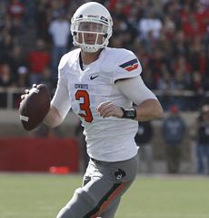 Big 12 Blitz: OKLAHOMA STATE QB gaining in Heisman race
