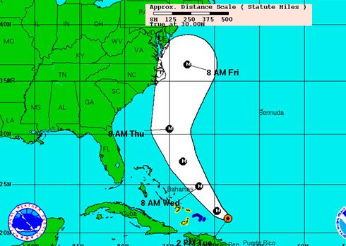 carnival cruise lines and hurricane earl