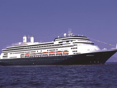 A Holland America cruise ship with more than 2,000 gay travelers on board ...