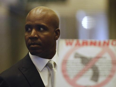 barry bonds trial. in the Barry Bonds trial.