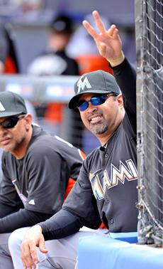 OZZIE GUILLEN thrown out of spring training game