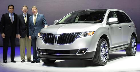 the new 2011 Lincoln MKX. Ford's Lincoln is taking away the buttons