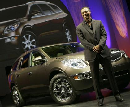 General Motors says that its agreement with Tiger Woods that allowed