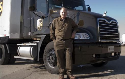 This 'Big Dog' is UPS' safest driver in the world