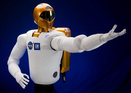 the nasa gm robotic astronaut