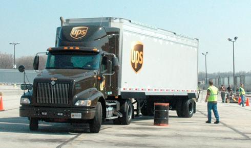 UPS school hunts for 'Top Gun' among student truckers