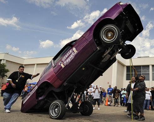 Today Show on The West Texas Custom Car Show Attracted About 160 Entries  Including
