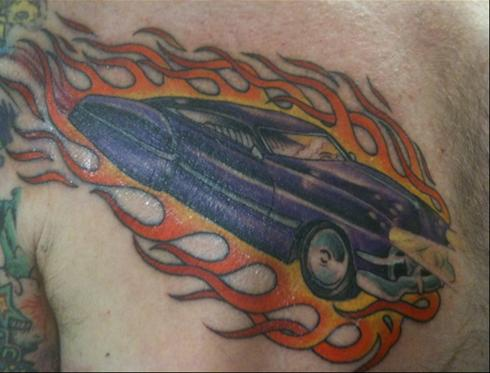 LET US SEE: Send us a photo of your car tattoo.