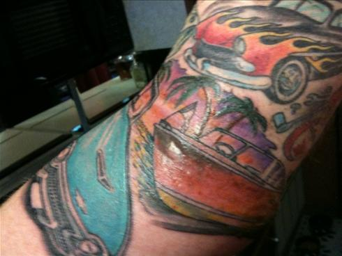 Recently, we at Drive On wrote about tattoos relating to cars,