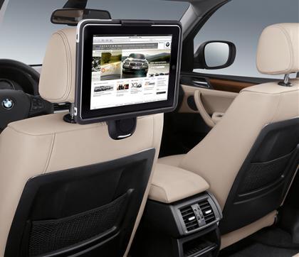 BMW меняет DVD-системы на iPad'ы