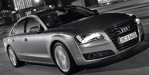 Audi A8 is you will never change a light bulb. We've seen LED headlights