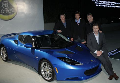 photo of Alec Baldwin Lotus - car