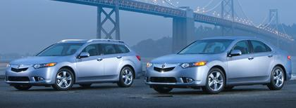 Acura  2010 on Honda S Acura Has Given Its Tsx A Few New Tweaks On The Outside And A