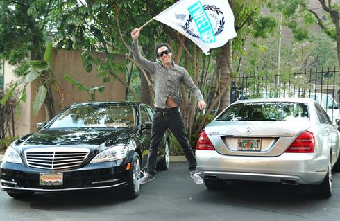 photo of Pete Wentz Mercedes-Benz - car