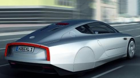 Volkswagen 300 Mpg. The Volkswagen concept has an