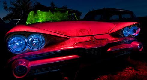 Hot Rod Halloween...creepy cars,etc...   The H.A.M.B.