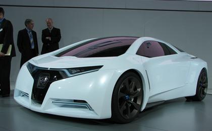 Honda said today that it has set a goal of reducing carbon emissions ...