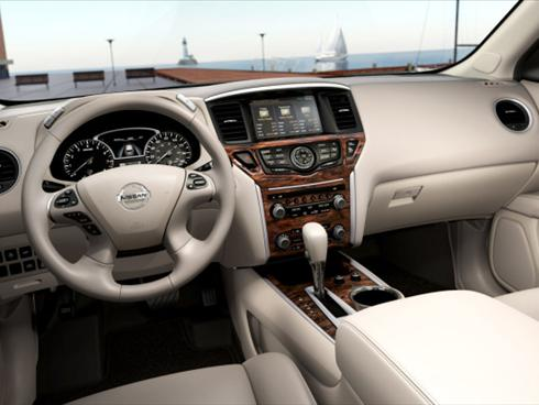2013 Nissan Pathfinder on Is Showing Photos Of The Interior Of Its Redesigned  2013 Pathfinder