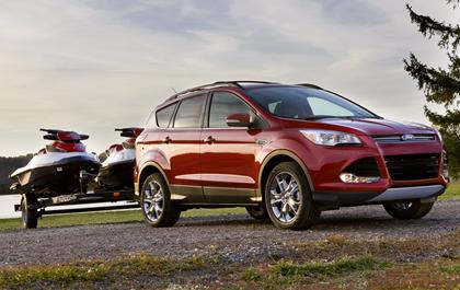 Ford touts Escapes turbocharged towing prowess