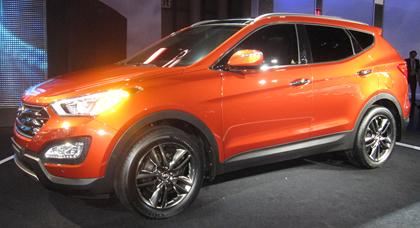 2013 Hyundai Santa Fe: new look, new TURBO, new 3rd row