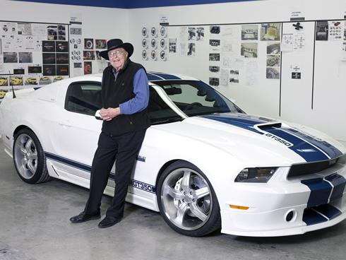 Shelby Gt500 2012 on Carroll Shelby Far Of Cobra Dies Forummustang Com Forum Ford