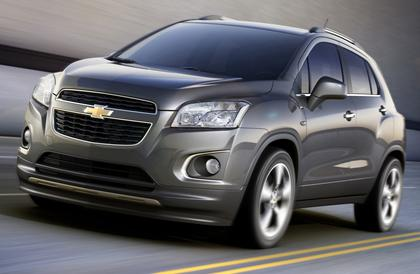 Chevrolet on Chevrolet Will Introduce A New Compact Crossover Suv To 140 Countries