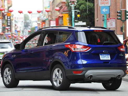 The 2013 Ford Escape compact crossover.