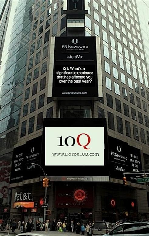 10Q in Times Square!