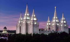 The Church of Jesus Christ of Latter-Day Saints (Mormons), under fire from gay rights leaders for comments by a church leader about homosexuality, says today from its Salt Lake City headquarters (shown here) that there can be no cruelty toward anyone based on their sexuality.