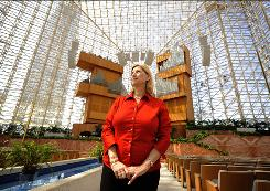"Sheila Schuller Coleman, who took over Crystal Cathedral and the ""hour of Power"" ministry  from her televangelist father, Rev. Robert H. Schuller Sr.,last year, has declared bankruptcy for the Garden Grove, Calif., megachurch."