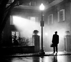 "In this film publicity image released by Warner Bros. Entertainment, Max Von Sydow portrays Father Merrin in a scene from ""The Exorcist."" The Catholic Church is facing a shortage of priests who have the proper training for the real religious rule of an exorcism  confronting the pain in someone who feels taken over by evil. U.S. bishops held a two day training program in excorcism."