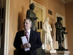 Sen. Dick Durbin, D-Ill., , shown on Capitol Hill in January, will hold hearings on U.S. Muslims civil rights.