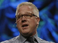 A Jewish group claims success for its campaign to shove Glenn Beck off Fox News but Beck  still has a wide audience with radio and speaking tours such as this one in Illinois last year.