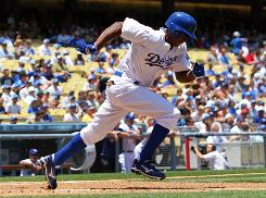 Dodgers outfielder Juan Pierre isn't playing every day, but a solid average and his ability to steal bases could contribute to fantasy owners trying to make a final push.