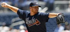 Rookie Tommy Hanson has posted an 8-2 record and a 3.05 ERA for the Braves this season, but he's already thrown more innings than he did in 2008. 