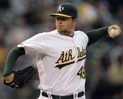 Athletics left-hander Brett Anderson, 21, has shown he's a likely keeper with excellent strikeout and walk ratios and a solid second half.