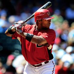 Don't discount Arizona outfielder Justin Upton as a possible fantasy MVP. Upton, 22, hit 26 homers in 2009 after hitting a combined 17 in his first two seasons with the Diamondbacks.
