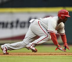 Despite shortstop JImmy Rollins going on the disabled list, the Phillies offense could potentially be stronger with Shane Victorino in the leadoff spot.