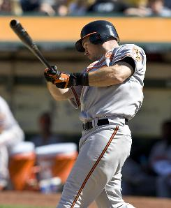 Offseason acquisitions left Ty Wigginton as the odd man out with the Orioles, but injuries have thrust him into the lineup where he's responded with four home runs.