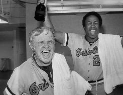 When building a simulation league team, it's not a bad idea to take a page from former Orioles manager Earl Weaver, left with coach Frank Robinson after winning the 1979 AL pennant, and concentrate on pitching and defense.