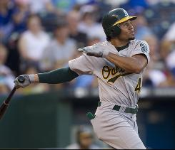 Recent statistical trends indicate A's outfielder Coco Crisp could provide help in speed and power categories, and he should see plenty of playing time down the stretch.