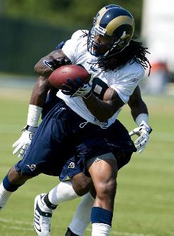 St. Louis Rams running back Steven Jackson has battled numerous injuries during his five-year career.