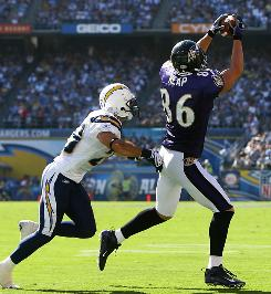 Ravens tight end Todd Heap had a touchdown catch in his first two games, but has been held under 50 yards the past two weeks. He could be a decent fill-in this week though at home against Cincinnati.