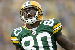 Green Bay Packers wide receiver Donald Driver.