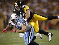 The Pittsburgh Steelers defense collapsed after All-Pro safety Troy Polamalu was hurt.