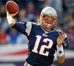 Tom Brady and the Patriots are going for their fourth consecutive win.