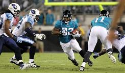 Maurice Jones-Drew is shoot for his fifth consecutive game with at least 100 yards rushing.