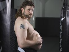 """Roy """"Big Country"""" Nelson has a habit of rubbing his stomach after mixed martial arts victories."""