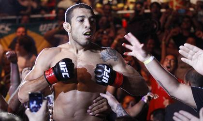 Jose Aldo stops Chad Mendes with devastating knee, defends featherweight belt ...