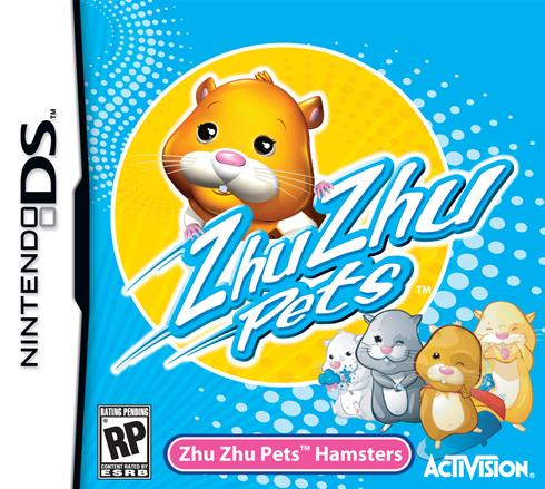 Zhu Zhu Pets hamsters -- finally have their own video game in the